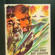 Cine: TORPEDO-ROBERT WISE-CLARK GABLE-BURT LANCASTER-JACK WARDEN-BRAD DEXTER-ILUSTRADO POR MAC-AÑOS 40. . Lote 174157808