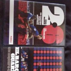 Cine: LOTE DE 2 DVD F.C.BARCELONA. Lote 174164384