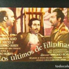 Cine: LOS ULTIMOS DE FILIPINAS-ANTONIO ROMAN-ARMANDO CALVO-JOSE NIETO-GUILLERMO MARIN-MANOLO MORAN-AÑOS 40. Lote 174273675