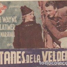 Cine: PROGRAMA DE CINE DOBLE: TITANES DE LA VELOCIDAD PC-4424. Lote 174291370