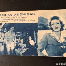 Cine: FICHA PROGRAMA 136 HEROINAS HUMANAS.LORETTA YOUNG. Lote 174309738