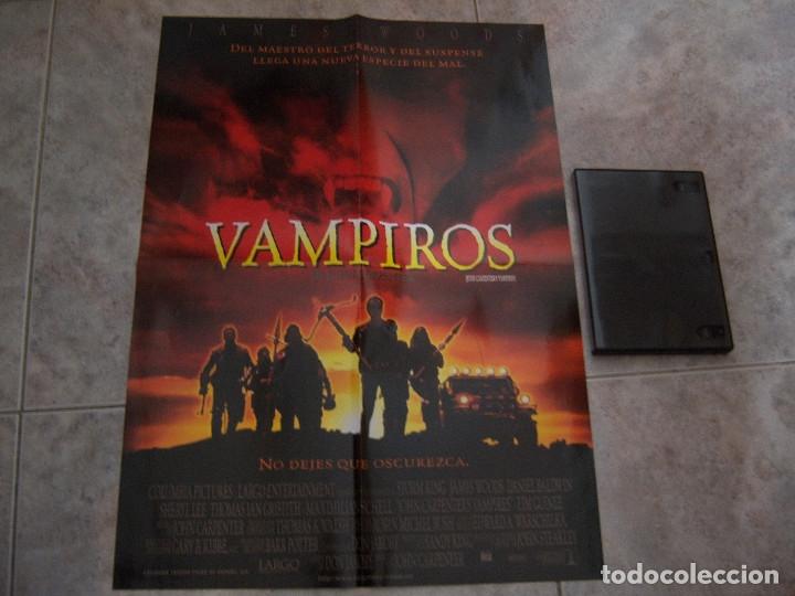 Cine: POSTER DOBLE DE LA MOMIA Y VAMPIROS - Foto 2 - 219020451