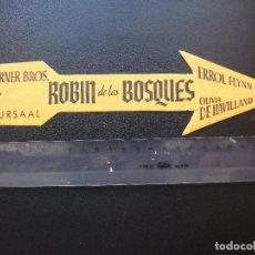 Cine: ROBIN DE LOS BOSQUES, ERROL FLYNN, CINE KURSAAL. Lote 174428432
