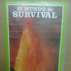 Cine: KRAKATOA. QUADRA SALCEDO. SURVIVAL. VHS. Lote 174481740