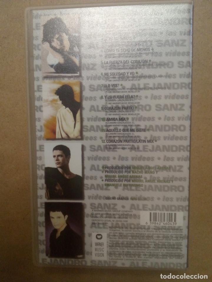 Cine: Alejandro Sanz. Música española. Concierto. Pop. VHS - Foto 2 - 174482068