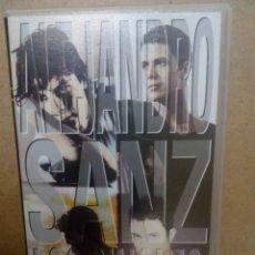 Cine: ALEJANDRO SANZ. MÚSICA ESPAÑOLA. CONCIERTO. POP. VHS. Lote 174482068