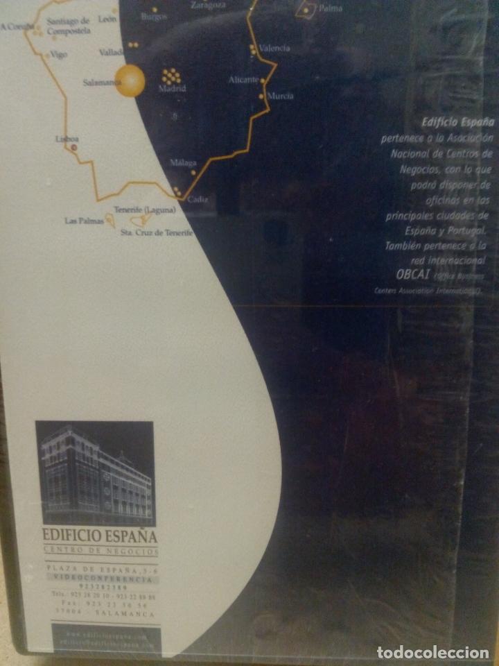 Cine: Edificio España. Salamanca. Empresa. VHS. Nuevo, precintado - Foto 2 - 174482157