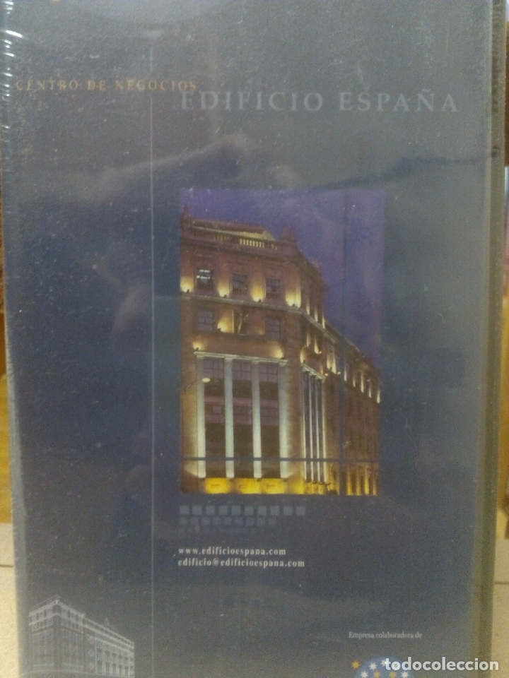 EDIFICIO ESPAÑA. SALAMANCA. EMPRESA. VHS. NUEVO, PRECINTADO (Cine - Folletos de Mano - Documentales)