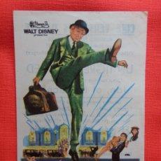 Cine: EL MAS FELIZ MILLONARIO, IMPECABLE SENCILLO, WALT DISNEY, TOMMY STEELE, C/PUBLI C. VERSALLES 1971. Lote 174520470