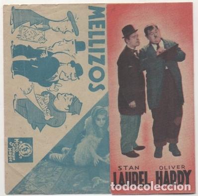 PROGRAMA DE CINE: DOS PARES DE MELLIZOS. SIN PUBLICAD PC-4498 (Cine - Folletos de Mano - Comedia)