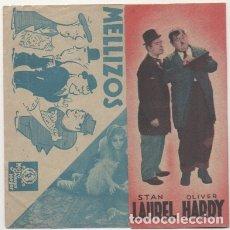 Cine: PROGRAMA DE CINE: DOS PARES DE MELLIZOS. SIN PUBLICAD PC-4498. Lote 174889493