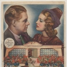 Folhetos de mão de filmes antigos de cinema: PROGRAMA DE CINE : ENAMORADOS. CON PUBLICIDAD PC-4515. Lote 175024233