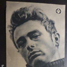 Cine: JAMES DEAN AL ESTE DEL EDEN 1955 PROGRAMA DE MANO GRANDE RARO. Lote 175026508