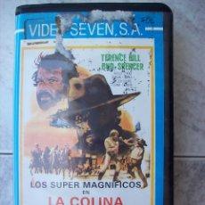 Flyers Publicitaires de films Anciens: LA COLINA DE LAS BOTAS VHS BUD SPENCER TERENCE HILL. Lote 175318112