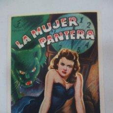 Cine: PROSPECTO DE CINE 1942. Lote 175583835