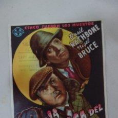 Cine: PROSPECTO DE CINE 1945. Lote 175591883