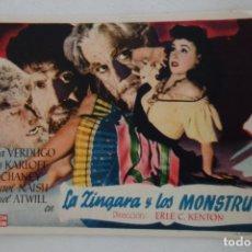 Cine: PROSPECTO DE CINE 1944. Lote 175594417
