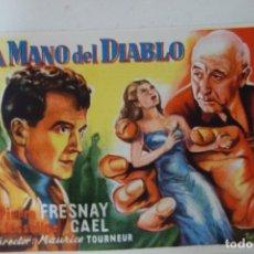 Cine: PROSPECTO DE CINE 1943. Lote 175597984