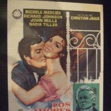 Cine: LOS AMORES DE LADY HAMILTON - SIMPLE CON PUBLICIDAD CINE MARYAN BLANES - PERFECTO. Lote 175622357
