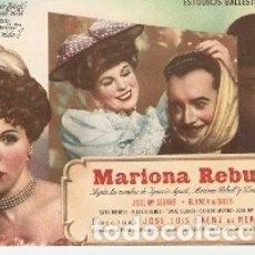 Cine: PROGRAMA CINE. MARIOLA REBILL. REF. 19-1006. Lote 175711614