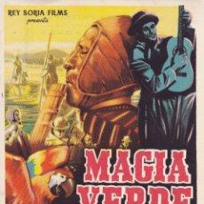 Cine: MAGIA VERDE. Lote 175849539