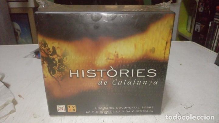 HISTÒRIES DE CATALUNYA - COLECCIÓN DE 13 DOCUMENTALES + LIBRETO (2003) - DVD NUENO PRECINTADO (Cine - Folletos de Mano - Documentales)