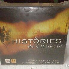 Cine: HISTÒRIES DE CATALUNYA - COLECCIÓN DE 13 DOCUMENTALES + LIBRETO (2003) - DVD NUENO PRECINTADO. Lote 175901615
