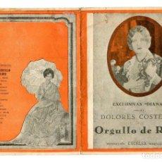 Cine: ORGULLO DE RAZA, CON DOLORES COSTELLO.. Lote 175942662