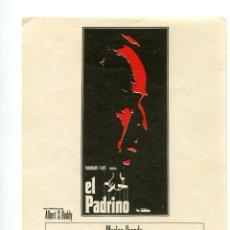 Cine: EL PADRINO, CON AL PACINO. S/I.. Lote 175943784