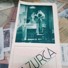 Cine: ANTIGUO PROGRAMA CINE MAZURCA U FILMS . Lote 176280834