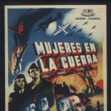 Cine: P-4338- MUJERES EN LA GUERRA (WOMEN IN WAR) (CONTINENTAL FILMS) ELISA JANIS - WENDY BARRIE. Lote 22032735