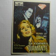 Cine: PROGRAMA LA RONDA DEL DIAMANTE - BELINDA LEE PUBLICIDAD. Lote 176422030