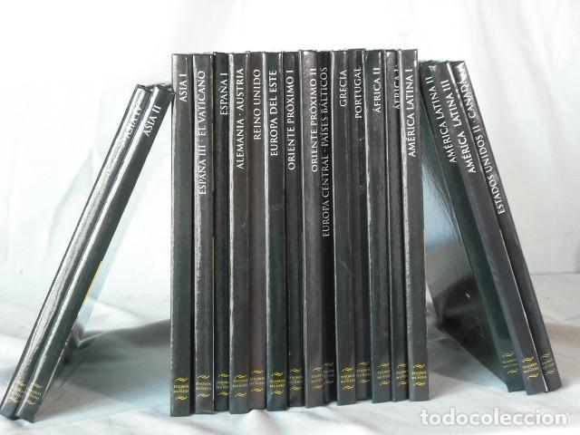 LOTE COLECCION DE TESOROS DEL MUNDO 19LIBROS CON DVD (Cine - Folletos de Mano - Documentales)