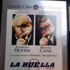 Cine: DVD GRANDES CLASICOS DEL SUSPENSE - LA HUELLA - LOTE 15 PELICULAS - 4,6,11,12,13,14,15,16,17,18,19,. Lote 176574342
