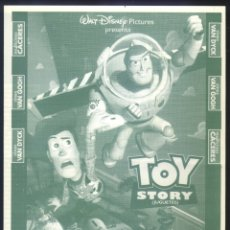 Cine: P-3968- TOY STORY (JUGUETES) (LOCAL DOBLE) CINES VAN DYCK - SALAMANCA. Lote 176583762
