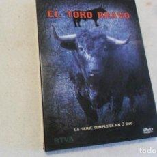 Flyers Publicitaires de films Anciens: 3 DVD - EL TORO BRAVO . Lote 176695770