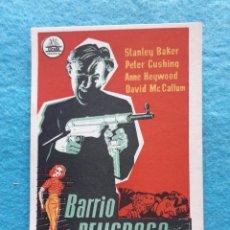 Cine: BARRIO PELIGROSO. STANLEY BAKER, PETER CUSHING, ANNE HEYWOOD. AÑO 1958.. Lote 176837892