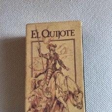 Cine: 2 VHS EL QUIJOTE. Lote 177132720
