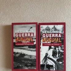 Cine: 2 VHS DE LA SEGUNDA GUERRA MUNDIAL DE FOLIO. Lote 177133560