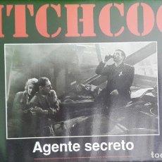 Cine: AGENTE SECRETO VHS. Lote 177274640