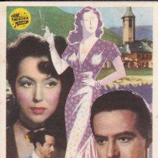 Folhetos de mão de filmes antigos de cinema: LA FORASTERA. Lote 177703540