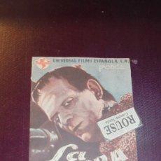 Cine: LA SOMBRA DE FRANKENSTEIN - 1944UNIVERSAL FILS ESPAÑOLA S.A., BASIL RATHBONE , BORIS KARLOFF BELA LU. Lote 177774537