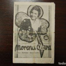 Cine: MORENA CLARA IMPERIO ARGENTINA CIFESA, CON CANCIONERO. AÑO (1935). Lote 177894409