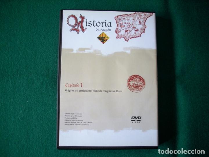 Cine: HISTORIA DE ARAGÓN - 9 DVD DE: EL PERIÓDICO DE ARAGÓN (COLECCIÓN COMPLETA) - Foto 6 - 177960247