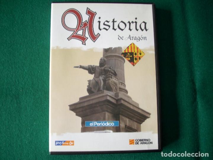 Cine: HISTORIA DE ARAGÓN - 9 DVD DE: EL PERIÓDICO DE ARAGÓN (COLECCIÓN COMPLETA) - Foto 4 - 177960247