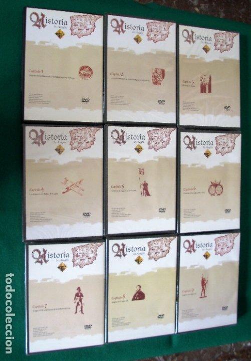 Cine: HISTORIA DE ARAGÓN - 9 DVD DE: EL PERIÓDICO DE ARAGÓN (COLECCIÓN COMPLETA) - Foto 3 - 177960247
