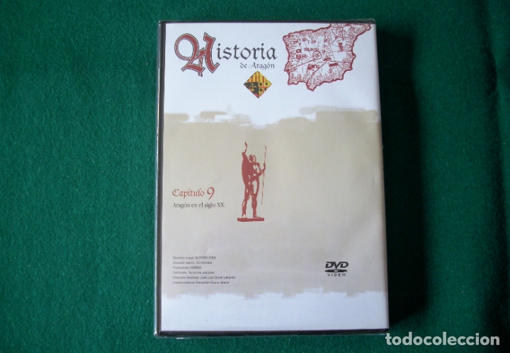 Cine: HISTORIA DE ARAGÓN - 9 DVD DE: EL PERIÓDICO DE ARAGÓN (COLECCIÓN COMPLETA) - Foto 14 - 177960247