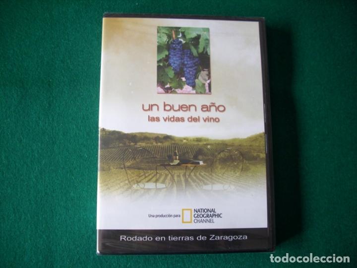 UN BUEN AÑO - LAS VIDAS DEL VINO - DVD NATIONAL GEOGRAPHIC CHANNEL - PRECINTADO (Cine - Folletos de Mano - Documentales)