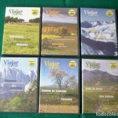 Cine: VIAJAR POR ARAGÓN - RTVA - DVD NÚMEROS 1, 3, 4,5, 6 Y 7. Lote 177961283