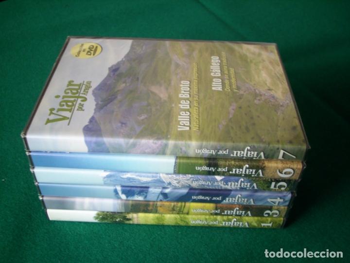 Cine: VIAJAR POR ARAGÓN - RTVA - DVD NÚMEROS 1, 3, 4,5, 6 Y 7 Números 3 al 7 PRECINTADOS - Foto 3 - 177961283